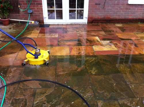 Driveway and Patio cleaning and sealing services