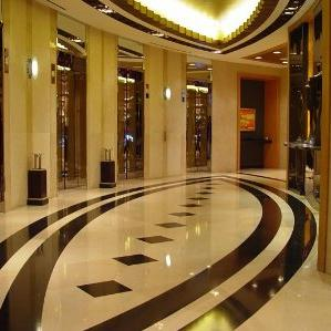 sealed and polished marble floor