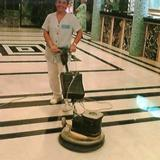 cleaning sealed and polished marble floors