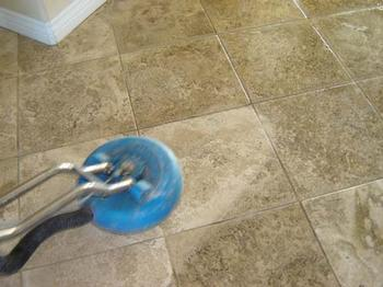 Cleaning Sealed stone flooring