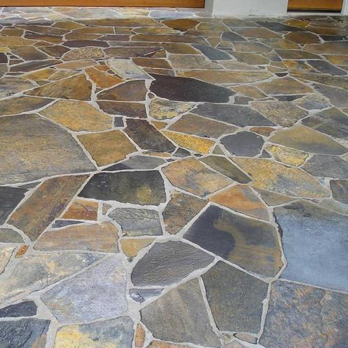 sealed crazy paving patio