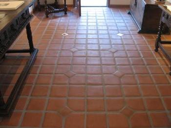 Sealing Terracotta tiled floor
